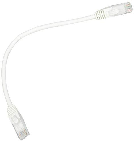 Link Cable de Red categoría 6 A, sin apantallado, UTP AWG24, Color Blanco, 0,25 m
