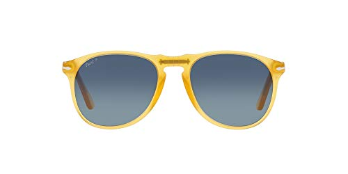 Persol 0PO9649S Gafas, MIELE/BLUE SHADED, 52 para Hombre