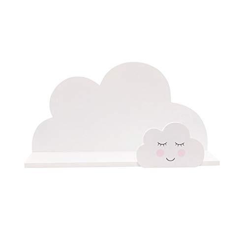 Sass & Belle - Scaffale bianco con nuvola, collezione Sweet Dreams