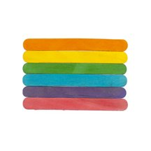 4-1/2 inch Colored Craft Sticks-Bag of 1000