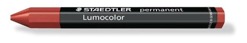 Staedtler 236 Lumocolor Omnigraph Marking Crayons Indelible Smudgeproof Red Ref 2362 [Pack 12] [per Pack: 12]