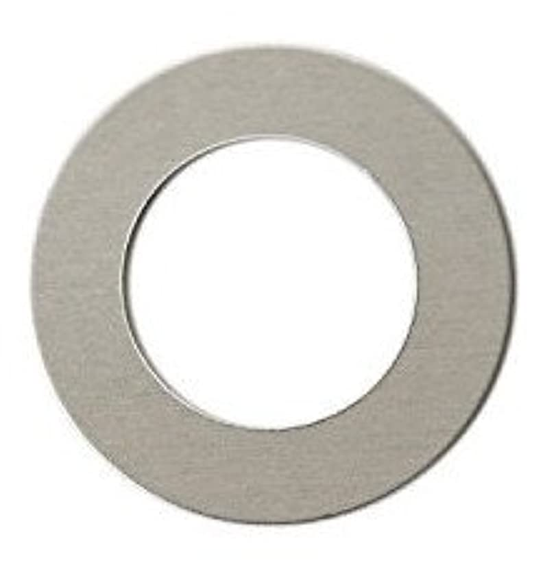 RMP Stamping Blanks, 1-7/8 Inch Washer with 1 Inch Center, Aluminum 0.063 Inch (14 Ga.) - 50 Pack