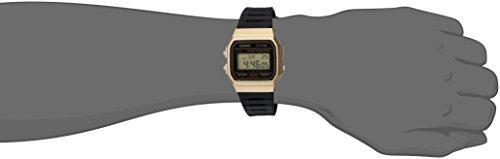 Casio watches Casio Men's Data Bank Quartz Watch with Resin Strap, Black, 18 (Model: F91WM-9A)