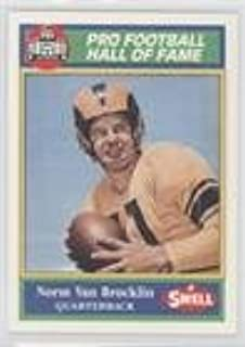 Norm Van Brocklin (Football Card) 1990 Swell Pro Football Hall of Fame - [Base] #41