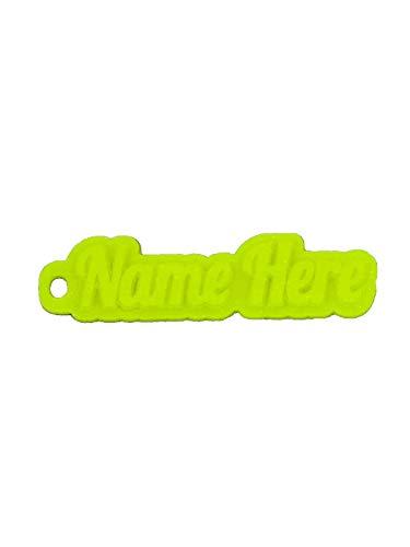 Citym3D  C-K1,  Schlüsselanhänger, Florescence Yellow, 6-10