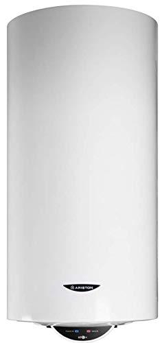 Ariston Pro1 Eco Dry Multis Termo Electrico 80 litros | Calentador de Agua Vertical y Horizontal, Multiposicion, Resistencia Doble Envainada – Intelegente con Display de Leds