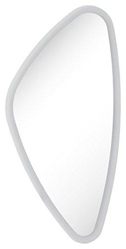 FACKELMANN LED Spiegel Organic Mirrors/Wandspiegel mit umlaufender LED-Beleuchtung/Maße (B x H x T): ca. 40 x 75 x 3 cm/hochwertiger Badspiegel/Breite 40 cm