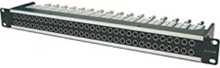 Canare 32MD-STS 1RU 2x32 75 Ohm Straight Through HD-SDI Video Patchbay-by-Canare
