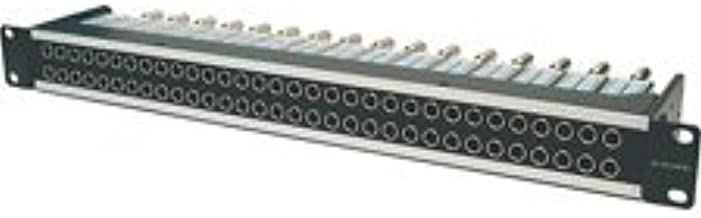 Canare 32MD-ST 1RU 2x32 Normalled HD-SDI Mid Size Video Patchbay-by-Canare