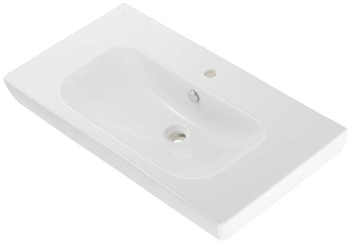 VitrA S20 Waschtisch-Waschbecken, 85 x 46 cm, Weiß