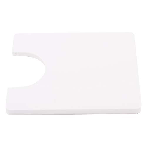 Mesa De Extensión De Máquina De Coser, Panel De Escritorio De Mesa De Extensión Dura De ABS De Fácil Montaje para Máquina De Coser KPCB 201202 Blanco por 201