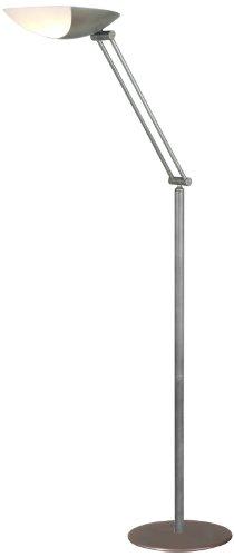 Aluminor METEORE *G Stehlampe, Leuchtstoffröhre, Metall/Polycarbonat