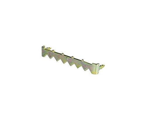 49mm No-Nail Gemakkelijk Zelfklevende Zaag-Tand Hanger Haak voor Foto Frame/Canvas/Plaque/Teken etc Opknoping - Pack van 50