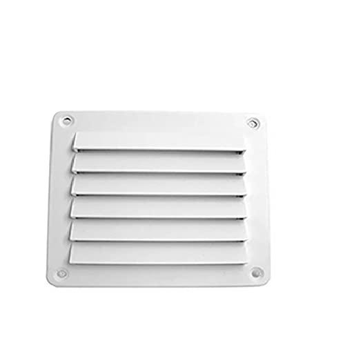 Development RV Ventilador de Escape de lumbrera Impermeable Abdominales Ajuste de ventilación de plástico para autocaravanas Accesorios de caravanas. (Color : 142mmx126.5mm)