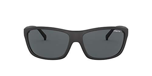 Arnette 0AN4263 Gafas, Negro Mate/Gris Oscuro, 63 para Hombre