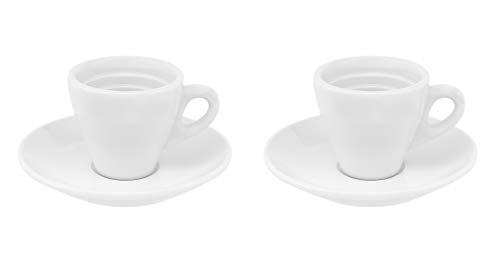 Business-Coffee Klassische Espressotassen Italia, 6 Stück