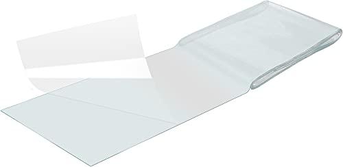 Poppstar nastro isolante impermeabile (10cm x 150cm) toppa per piscina sott'acqua (nastro per riparare piscine e superfici bagnate) ultra-resistente, colore trasparente