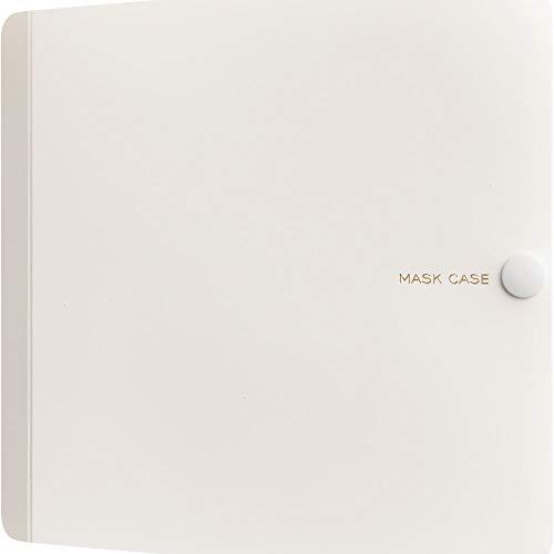 キングジム マスクケース 布・ポリウレタン用 1/2サイズ MC1006 白