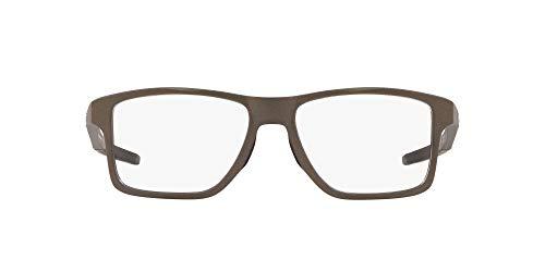 Oakley Unisex Chamfer Squared Lesebrille, Grau, 54