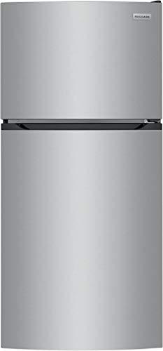 Frigidaire FFHT1425VV 28 Inch Freestanding Top Freezer Refrigerator (Brushed Steel)