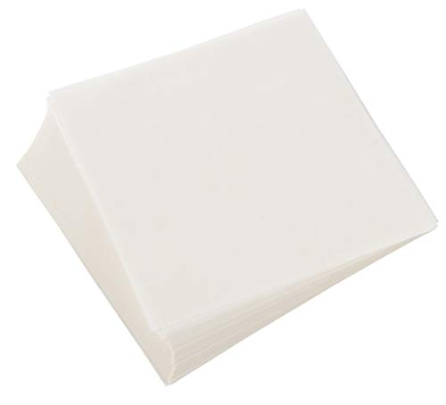 Wax Paper Sheets, Pre-Cut Square Food Liners (6 In, White, 500 Pack)