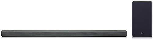 LG SL10YG Dolby Atmos 5.1.2 Soundbar (mit Meridian Soundtechnologie, integriertem Google Assistant, 550W mit drahtlosem Subwoofer) schwarz