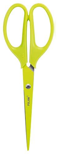 MILAN Blíster tijeras de oficina ACID amarillo 17 cm