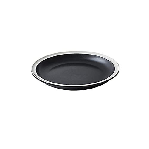 Hanpiyigcp Platos, Placa de Filete de Vintage de cerámica, se Puede Utilizar para Colocar filetes, Platos Laterales, Dulces, Verduras, Frutas