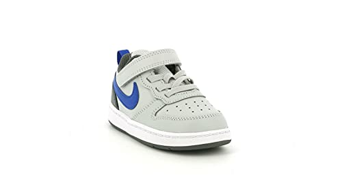 Nike BQ5453 012 Court Borough Low 2 TDV Scarpa da Ginnastica Bambino Grigio GRYFOGGAMERL 21 EU
