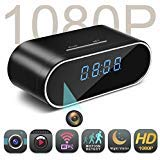 Spy Camera,MCSTREE Hidden Camera in Clock WiFi Hidden Cameras 1080P...