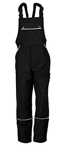 TMG® Petos de Trabajo para Hombre | Negro | XS-7XL | Pantalones de Trabajo Resistentes con Peto | Multibolsillos y Reflectores | Artesanos, Electricistas, Mecánicos 48