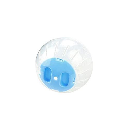 Hámster De Juguete De Plástico Pet Bola Redonda Animal Hámster Ratones De Juguete Transparente Hamster Bola De Animales Pequeños Accesorios Jaula