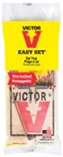 Victor Easy Set Rat Trap M205 - Prebaited - Pack of 4