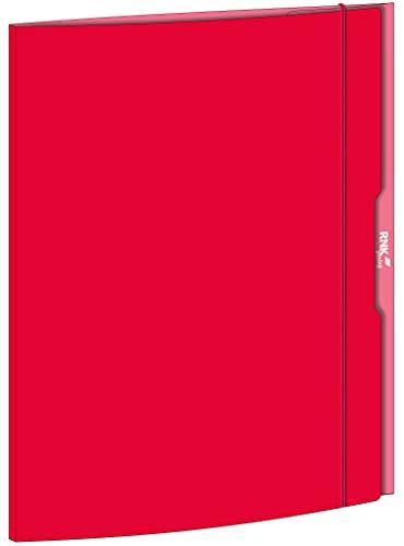 RNK 45336 - Sammelmappe rot, 310x440 mm, DIN A3, mit Gummizugverschluss, 1 Stück