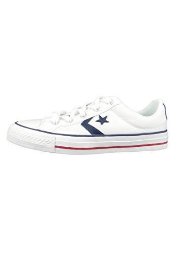 Converse Star Player - Zapatillas Bajas Hombre Blanco Talla 42