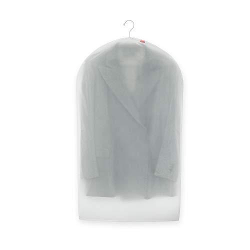 Rayen 2030.01 Custodia per Abiti, Taglia S, Plastica, Grigio, 60 x 100 cm