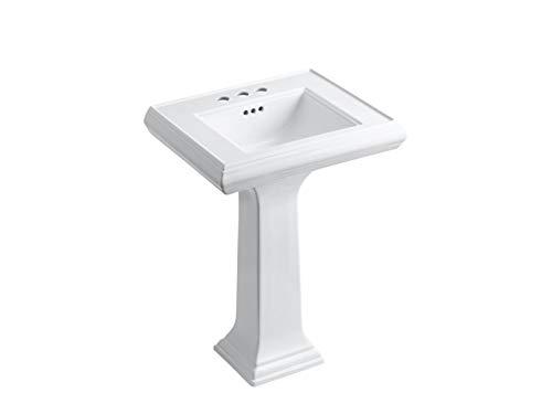 KOHLER K-2238-4-0 Memoirs Pedestal Bathroom Sink with 4