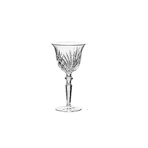 MQH Copas de Vino Copas de Vino Italianas: Copa de Cristal para Fiestas, Bodas, Gifting, Copa de Vino Transparente, para Vino Rojo y Blanco (1) Copas para Vino (Color : C)