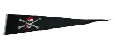 Langwimpel Pirat Kopftuch Fahne Flagge Wimpel NEU