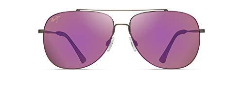 Maui Jim gafas de sol | Cinder Cone P789-24B | Montura de titanio color sepia satinado. Lentes polarizadas MAUI Sunrise.