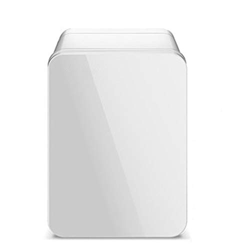 Mini koelkast XYBB Car Mini koelkast Refrigerator Auto Portable Freezer Refrigeration Icebox Household Low Noise Single Door 23 * 18 * 28cm White