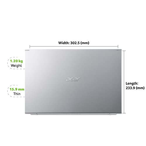 Acer Swift 3 SF313-52 13.5-inch Laptop (10th Gen Intel Core i5-1035G4 processor/8GB/512GB SSD/Window 10 Home 64Bit/Integrated Graphics), Silver