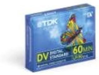TDK DVM 60 miniDV Videokassette für Camcorder (60 Minuten Laufzeit) 1 Stück