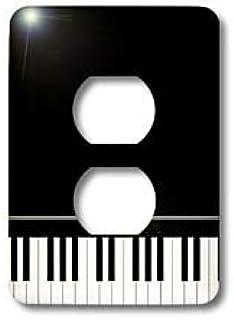 3dRose Lsp_112947_6 Black Piano Edge - Baby Grand Keyboard M
