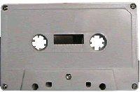 25pk. - C-47 NRS HIGH ENERGY 47min. Cassettes-Blank Bulk, Normal Bias WHITE