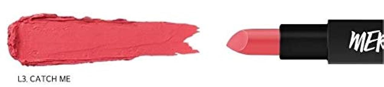 宮殿サラミ差[ME Series] MERZY The First Lipstick (# L3 Catch me) マーシー ザ ファスト リップスティック [並行輸入品]