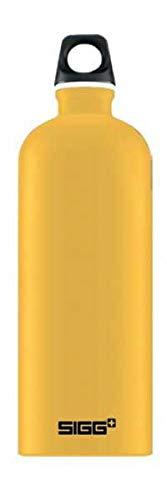 シグ(Sigg) アウトドア アルミボトル トラベラータッチ マスタード1.0L 60198
