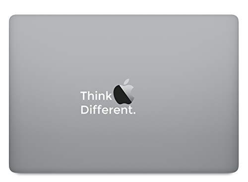 Think different sticker skin decal sticker geschikt voor Apple MacBook en alle andere laptop en notebooks
