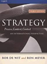 Strategy Process, Content, Context An International Perspective 3rd EDITION