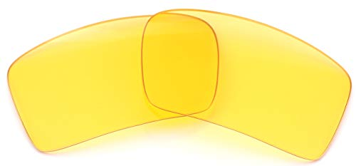 IKON LENSES Polarized Replacement for Oakley Eyepatch 2 Sunglasses - HD Yellow